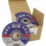 100 Pièce SBS Inox Disques À Tronçonner 125 x 1,0 mm de la marque nibeBaustoffe image 1 produit