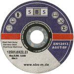 100 Pièce SBS Inox Disques À Tronçonner 125 x 1,0 mm de la marque nibeBaustoffe image 2 produit