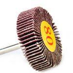 10x 80 # Grain de ponçage Rabat Disque de roue Papier abrasif Tampon de polissage Jante Rotary Outils de la marque eastar image 4 produit