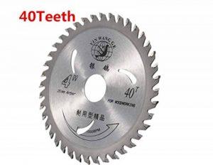 110m 30/40dents TCT Lame de scie d'angle Bois Plastique Coupe circulaire Disques–40 de la marque Générique image 0 produit
