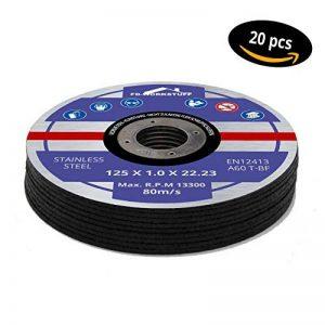 20disques à tronçonner Ø 125mm x 1.0mm pour meuleuse d'angle acier inox Flex Disque inox métal de la marque FD-Workstuff image 0 produit