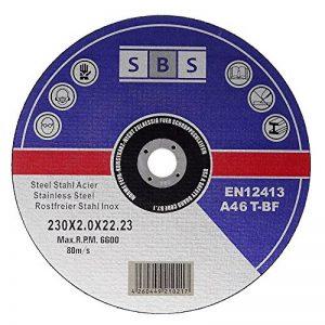 25 Stück SBS Trennscheiben 230 x 2,0mm INOX Flexscheiben Metall-Trennscheiben de la marque SBS image 0 produit