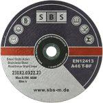 25 Stück SBS Trennscheiben 230 x 2,0mm INOX Flexscheiben Metall-Trennscheiben de la marque SBS image 2 produit