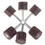 30mm en métal Tige abrasif monté Rabat Roues 80Grit pour Dremel outils rotatifs 10pièces de la marque Shineus image 1 produit