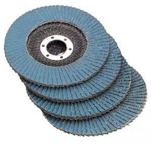"""332PageAnn Lot de 10 Disques de abrasifs à lamelles Professionnels 115mm 4.5"""" Disques de ponçage en oxyde de Zirconium pour 40/60/80/120 Grain Meules Lames Angle Grinder de la marque 332PageAnn image 0 produit"""