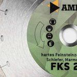 """'enclume FFS 21""""Standard–Disque diamant–hartes Grès Cérame (jusqu'à 0,8cm)/granite/Ardoise/Marbre/carrelage–Diamètre & alésage au choix–Hauteur de segment: 5mm de la marque Amboss image 1 produit"""