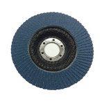 5 x 115mm Rabat Grain 80 Angle Meuleuse à Disque Ponçage Oxyde de Zirconium de Haute Qualité de la marque Home.smart image 2 produit