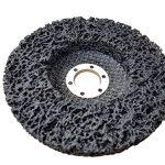 5 x Rostio CSD Disque Noir 125 mm Disque de nettoyage - Disque abrasif pour Flex - Meuleuse d'angle de la marque Rostio image 1 produit