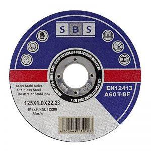 50 Pièce SBS Inox Disques Flexscheiben 115 x 1,0 mm de la marque SBS image 0 produit