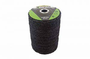 Abrasiv Lot de 10 disques de nettoyage en non-tissé 125 mm Alésage 22,2 mm de la marque Vewerk image 0 produit