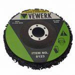 Abrasiv Lot de 10 disques de nettoyage en non-tissé 125 mm Alésage 22,2 mm de la marque Vewerk image 1 produit