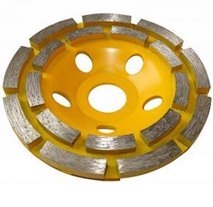 AERZETIX - Disque diamant à poncer 110mm 22.23mm assiette pour meuleuse 115mm béton pierre brique surfaçage façonnage C15772 de la marque AERZETIX image 0 produit