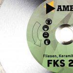 Amboss FKS 20 Eco Disque à tronçonner diamanté pour carrelage/céramique/marbre, alésage : 22,2 mm, hauteur de segment : 5 mm de la marque Amboss image 1 produit