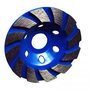 Baoblaze Disque Diamant à Meuler Poncer Assiette pour Meuleuse Béton Pierre 100x22mm - Bleu de la marque Baoblaze image 0 produit