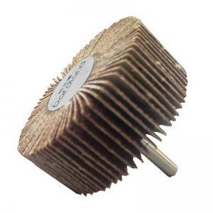 Bardland 60x25x6 5x ponçage disque de roue de rabot de papier abrasif 60 grains pour outils rotatifs Dremel de la marque bardland image 0 produit