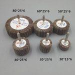 Bardland 60x25x6 5x ponçage disque de roue de rabot de papier abrasif 60 grains pour outils rotatifs Dremel de la marque bardland image 3 produit