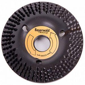 Bayerwald « Black Biter »-Disque-râpe - Ponçage rapide et grossier du bois et de matériaux en bois - Pour meuleuse d'angle de la marque Bayerwald Werkzeuge image 0 produit