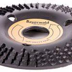 Bayerwald « Black Biter »-Disque-râpe - Ponçage rapide et grossier du bois et de matériaux en bois - Pour meuleuse d'angle de la marque Bayerwald Werkzeuge image 1 produit