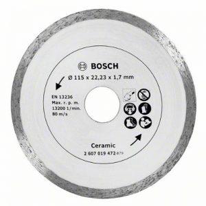 Bosch 2607019472 Lame circulaire diamant pour Carrelage 115 mm de la marque Bosch image 0 produit