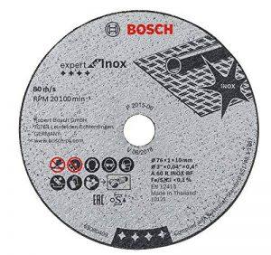Bosch 2608601520 Disque à tronçonner expert for inox A 60 R inox BF 76 mm x 1 mm x 10 mm de la marque Bosch image 0 produit
