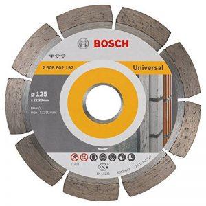 Bosch 2608602192 Disque à tronçonner diamanté standard for universal 125 x 22,23 x 1,6 x 10 mm de la marque Bosch image 0 produit