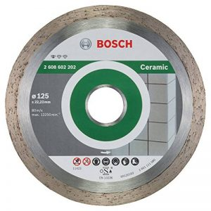 Bosch 2608602202 Disque à tronçonner diamanté standard for ceramic 125 x 22,23 x 1,6 x 7 mm de la marque Bosch image 0 produit