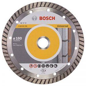 Bosch 2608602396 Disque à tronçonner diamanté Standard for Universal Turbo 180 x 22,23 x 2,5 x 10 mm Pack de 1 de la marque Bosch image 0 produit