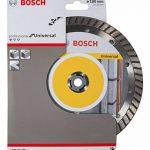 Bosch 2608602396 Disque à tronçonner diamanté Standard for Universal Turbo 180 x 22,23 x 2,5 x 10 mm Pack de 1 de la marque Bosch image 1 produit