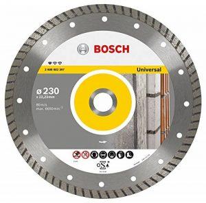 Bosch 2608602397 Disque à tronçonner diamanté standard for universal turbo 230 x 22,23 x 2,5 x 10 mm de la marque Bosch image 0 produit