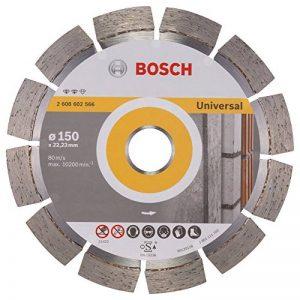 Bosch 2608602566 Disque à tronçonner diamanté expert for universal 150 x 22,23 x 2,4 x 12 mm de la marque Bosch image 0 produit