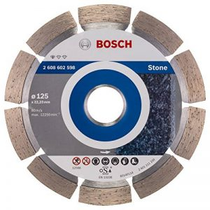 Bosch 2608602598 Disque à tronçonner diamanté standard for stone 125 x 22,23 x 1,6 x 10 mm de la marque Bosch image 0 produit