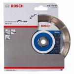 Bosch 2608602598 Disque à tronçonner diamanté standard for stone 125 x 22,23 x 1,6 x 10 mm de la marque Bosch image 1 produit