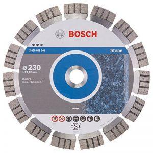 Bosch 2608602645 Disque à tronçonner diamanté best for stone 230 x 22,23 x 2,4 x 15 mm de la marque Bosch image 0 produit