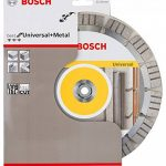 Bosch 2608602665 Disque à tronçonner diamanté best for universal and metal 230 x 22,23 x 2,4 x 15 mm de la marque Bosch image 2 produit