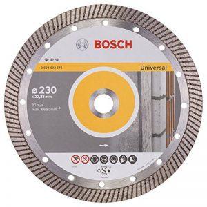 Bosch 2608602675 Disque à tronçonner diamanté best for universal turbo 230 x 22,23 x 2,5 x 15 mm de la marque Bosch image 0 produit