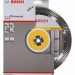 Bosch 2608602675 Disque à tronçonner diamanté best for universal turbo 230 x 22,23 x 2,5 x 15 mm de la marque Bosch image 1 produit