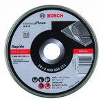 Bosch 2608603255 Disque à tronçonner à moyeu plat standard for inox rapido WA 60 T BF 125 mm 22,23 mm 1,0 mm de la marque Bosch image 1 produit