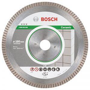 Bosch 2608603596 Disque à tronçonner diamanté best for ceramic extra-clean turbo 180 x 22,23 x 1,6 x 7 mm de la marque Bosch image 0 produit