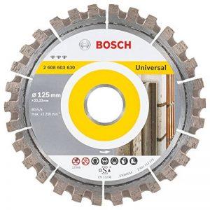 Bosch 2608603630 Disque à tronçonner diamanté best for universal 125 x 22,23 x 2,2 x 12 mm de la marque Bosch image 0 produit