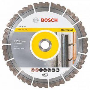 Bosch 2608603633 Disque à tronçonner diamanté best for universal 230 x 22,23 x 2,4 x 15 mm de la marque Bosch image 0 produit