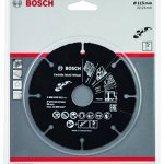 BOSCH 2608623012 Disque à tronçonner Multi Wheel en carbure, Noir, 115mm de la marque Bosch image 1 produit