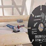 BOSCH 2608623012 Disque à tronçonner Multi Wheel en carbure, Noir, 115mm de la marque Bosch image 2 produit