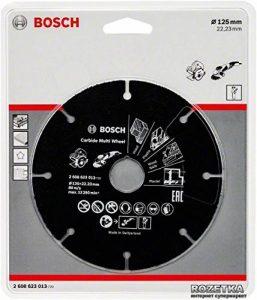 Bosch 2608623013 Disque 125 x 1 x 22,23 mm de la marque Bosch image 0 produit