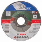 Bosch 2609256332 5 disques à tronçonner à moyeu déporté pour Métaux Diamètre 115 mm Diamètre d'alésage 22,23 Epaisseur 2,5 mm de la marque Bosch image 1 produit