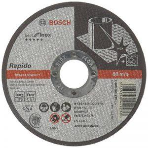 Bosch Rapido LongLife / 2608602220 Disque à tronçonner plat 115 x 1 mm de la marque Bosch image 0 produit