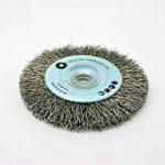 Brosse métallique pour brosse de nettoyage compatible avec Bosch GWS 10,8 12V 76 Accessoires Acier inoxydable bois de la marque Weller Werkzeuge image 2 produit