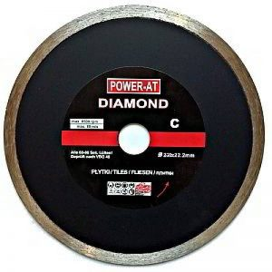Dessus de qualité continue 230x 22,23mm alésage disque de diamant Lame de coupe d'angle pour pierre, le Granit, marbre, Grès, tuyaux, carrelage, Terre cuite, vernis, etc. de la marque Power-AT image 0 produit