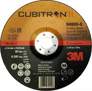 Disque à ébarber 3M Cubitron II, Grain 36+, Moyeu Déporté, 1 disque/boite de la marque 3M Cubitron II image 0 produit