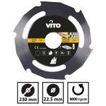 Disque coupe bois et PVC pour Meuleuse 115mm Alesage 22.5mm Haute résistance de la marque VITO-Pro-Power image 3 produit