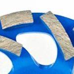 Disque diamant de qualité pour meule Ø 125mm avec segments diamantés incurvés–Très abrasif de la marque Werkmax image 2 produit